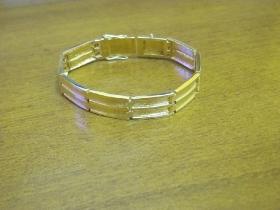 Изготовление браслета  из  желтого золота 585 пробы.