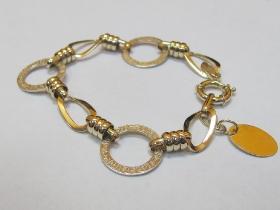 Изготовление браслета из желтого золота